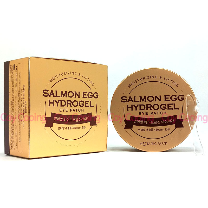 Botanic Farm Salmon Egg Hydrogel Eye Patch 60ea