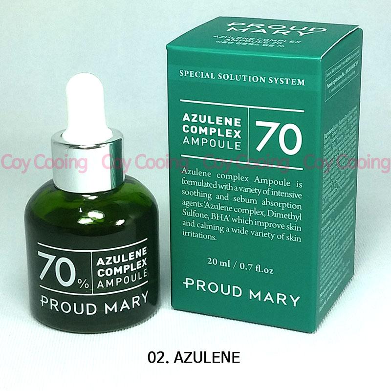 Proud Mary Patent AZULENE Complex Ampoule 20ml