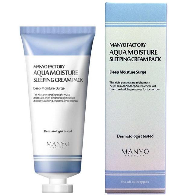 Manyo Factory Aqua Moisture Sleeping Cream Pack 100ml