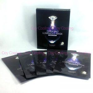 Shangpree Diamond Luminous Mask 5sheets