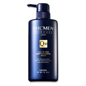 DHC Q10 Men All-In-One Deep Cleansing Wash 500ml