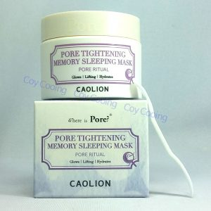 Caolion Pore Tightening Memory Sleeping Mask (20g or 50g)