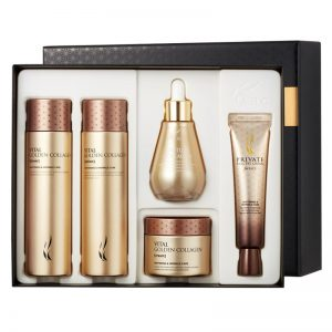 AHC Vital Golden Collagen Special Skincare Set