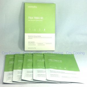 Aromatica Tea Tree 91 Anti-Blemish Calming Mask 5sheets