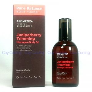 Aromatica Juniperberry Trimming Massage & Body Oil 100ml