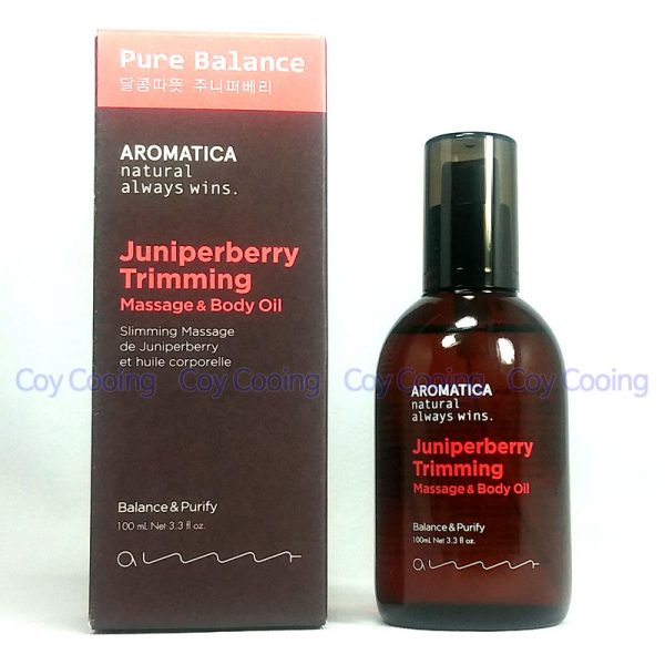 Aromatica Juniperberry Trimming Massage & Body Oil 100ml