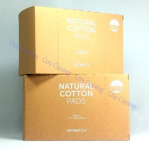 Aromatica 100% Natural Cotton Pads Sensitive Skin Care