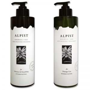 Alpist Edelweiss 7 Free Non-Silicone 1000ml (Shampoo or Treatment)