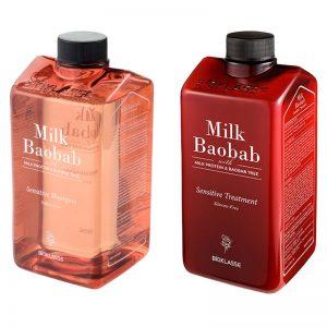 Bioklasse Milk Protein Baobab Sensitive (Shampoo 800ml) or (Treatment 800ml)