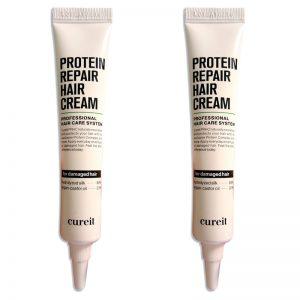 Cureit Protein Repair Hair Cream 20ml x 2pcs