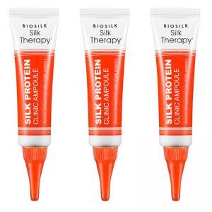 BioSilk Silk Therapy Protein Clinic Ampoule 3pcs