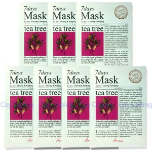 Ariul 7days Tea Tree Mask Clearing Purifying 7pcs