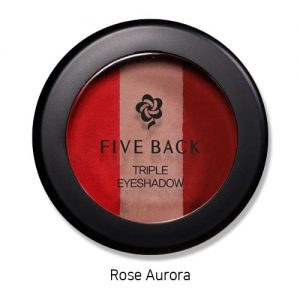 Five Back Triple Eyeshadow 3.5g Rose Aurora