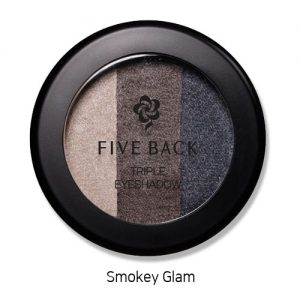 Five Back Triple Eyeshadow 3.5g Smokey Glam