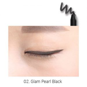 Sugar Reve Long Lasting Auto Eyeliner 0.5g Glam Pearl Black