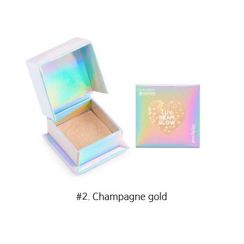 Lilybyred Luv Beam Glow Eye Shadow 3.5g #2. Champagne gold