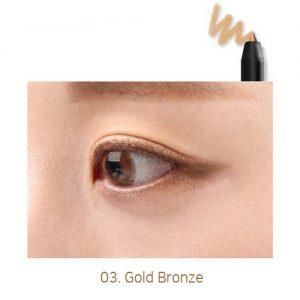 Sugar Reve Long Lasting Auto Eyeliner 0.5g Gold Bronze