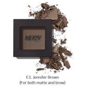Merzy The First Eye Shadow E3. Jennifer Brown