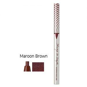 Clio Sharp So Simple Waterproof Pencil Liner 0.14g Maroon Brown