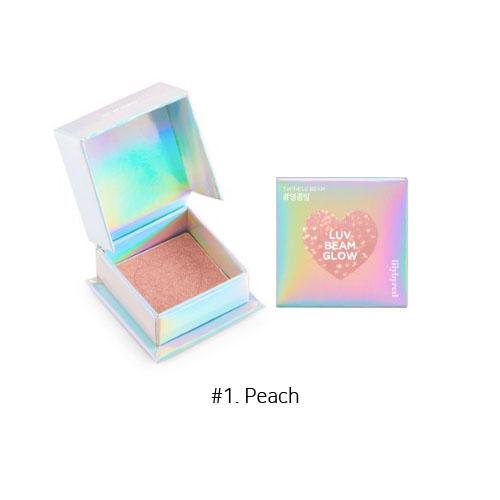 Lilybyred Luv Beam Glow Eye Shadow 3.5g #1. Peach
