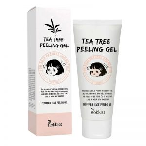 Rok Kiss Tea Tree Face Peeling Gel 120ml