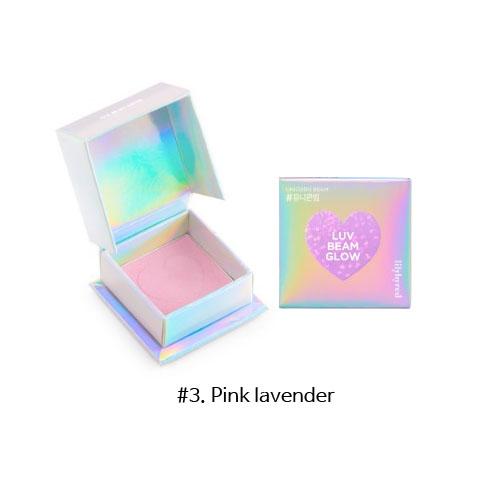 Lilybyred Luv Beam Glow Eye Shadow 3.5g #3. Pink lavender
