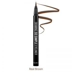 Dipodeur Drawing So Simple Eyeliner 0.5g Real Brown
