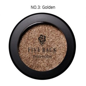 Five Back Eyeshadow 3.5g Golden