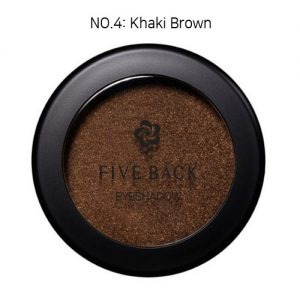 Five Back Eyeshadow 3.5g Khaki Brown