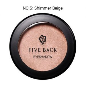 Five Back Eyeshadow 3.5g Shimmer Beige