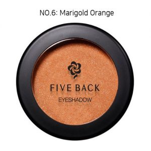 Five Back Eyeshadow 3.5g Marigold Orange