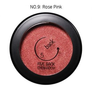 Five Back Eyeshadow 3.5g Rose Pink