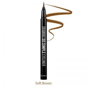 Dipodeur Drawing So Simple Eyeliner 0.5g Soft Brown