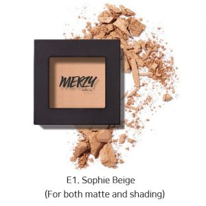 Merzy The First Eye Shadow E1. Sophie Beige