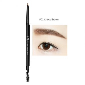 J.MUH Slim Eyebrow Pencil 0.1g #02 Choco Brown