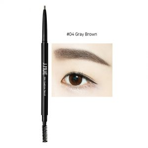 J.MUH Slim Eyebrow Pencil 0.1g #04 Gray Brown