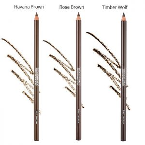 Woodbury Hard Texture Eyebrow Pencil 4g (Havana Brown) (Rose Brown) (Timber Wolf)