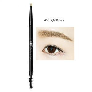 J.MUH Slim Eyebrow Pencil 0.1g #01 Light Brown