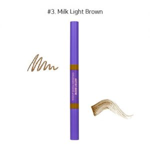 Colorgram Artist Brow Coloring Pencil & Cara #3. Milk Light Brown