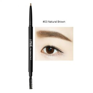 J.MUH Slim Eyebrow Pencil 0.1g #03 Natural Brown