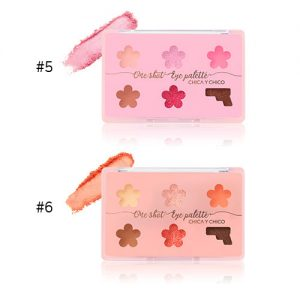 Chica Y Chico One Shot Eye Palette 9g #5.Pink #6.Coral