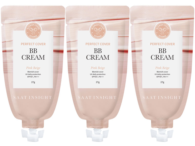 Saat Insight Perfect Cover BB Cream Pink Beige