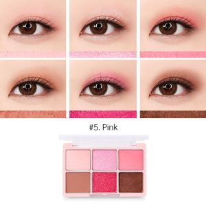 Chica Y Chico One Shot Eye Palette 9g #5.Pink