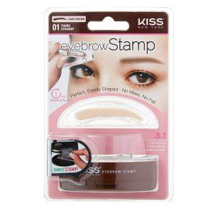 KISS NEW YORK Eyebrow Stamp 6g Young Straight