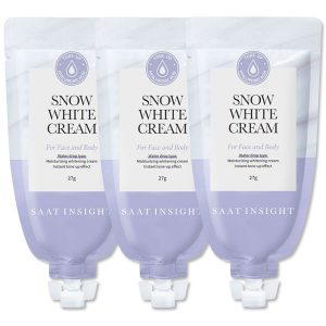 Saat Insight Snow White Cream For Face and Body