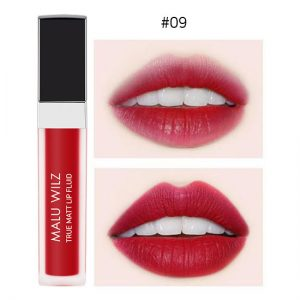 Malu Wilz True Matte Lip Fluid 6ml #09 Blaze Red