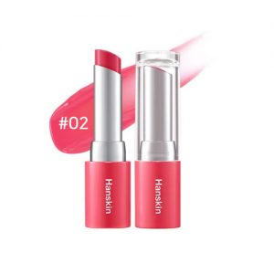 Hanskin Glam Moolon Tinted Lip Balm 4.5g #02 Brave Pink