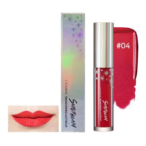 I'M CHIC Super Glam Transforming Glitter Lip 5.5g #04.Chic Rose