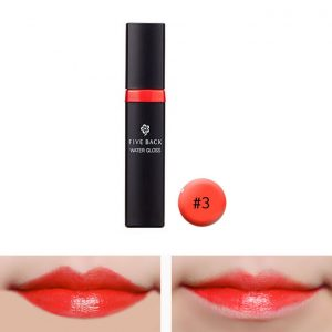 Five Back Water Lip Gloss 7.5g #3 Chemi Coral