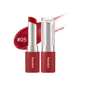 Hanskin Glam Moolon Tinted Lip Balm 4.5g #05 Densely Rose